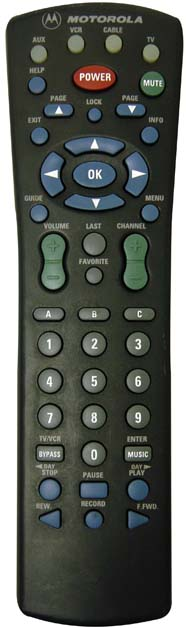 how to connect a shaw remote to the tv