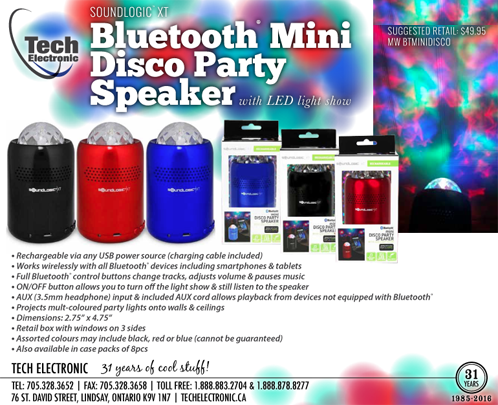 Mini Disco Party Speaker