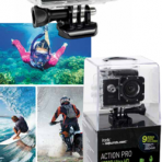 ITEK ACTION PRO 1080P Ultra HD Waterproof Sports Camers