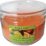 Bella Luz Mango Mandarin Triple-Wick 10oz Candle